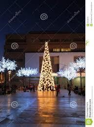 the modern christmas tree christmas lights decoration