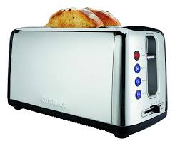Toaster Oven With Toaster Slots The Bakery Artisan Bread Toaster With Extra Long Bread Slots From