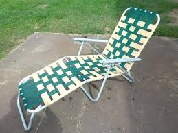 Vintage Lawn Chairs Aluminum Webbed Chaise Lounge Chairs U2013 Peerpower Co