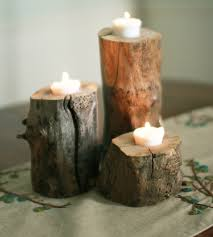 Tree Branch Candle Holder Make Your Own Forest Tea Candle Holders Small Tree Trunk