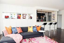 livingroom calgary colourful modern eclectic great room eclectic living room