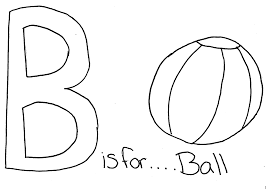 b is for ball coloring page at best all coloring pages tips