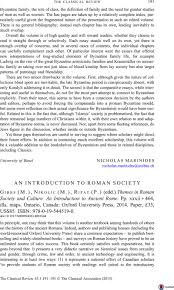 Edd Maps An Introduction To Roman Society Gibbs M Nikolic M