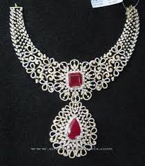 diamond necklace set images Indian bridal diamond necklace set indian diamond necklace jpg