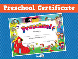 preschool certificates student awards printable classroom student awards and