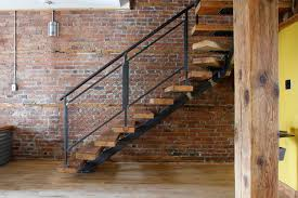 Industrial Stairs Design Dominique Industrial Staircase Montreal By