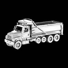 freightliner dump truck left