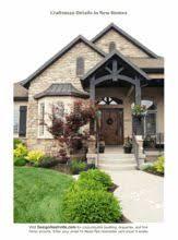Craftsman Home Design Elements Green Craftsman Houses Tune Wallpaper Deep Red Brick Black Door