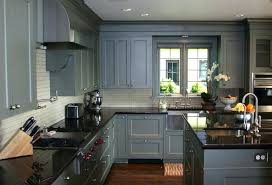 Grey Home Interiors Comfortable Painting Kitchen Cabinets On Home Interior Design