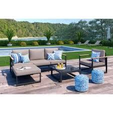 canape jardin aluminium mobilier de jardin achat vente pas cher cdiscount