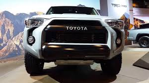 new toyota vehicles 2017 toyota 4runner trd pro exterior walkaround price site toyota