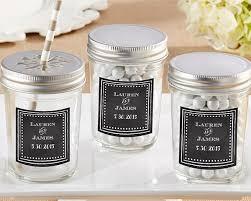 wedding favor jars personalized chalk glass jar set of 12 my wedding favors