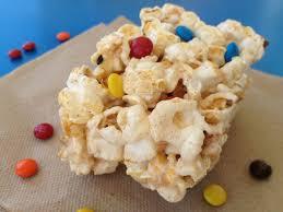 vanilla bean popcorn crispy treats monimeals