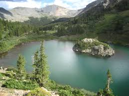 Colorado Lakes images Lost lake at cottonwood pass colorado hike trail photos jpg