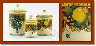 tuscan kitchen canisters tuscan canisters the best tuscan kitchen canisters from italy