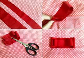 ribbon hair bow how to make a ribbon hair bow in how to make a bobble tie