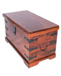 wooden toy box ottoman storage storage chest and trunks