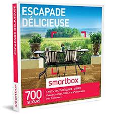 coffret smartbox table et chambre d hote smartbox coffret cadeau escapade délicieuse 700 séjours