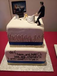 20 nerdy wedding cakes that will put your cake to shame onedio co