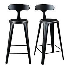 chaise pour plan de travail chaises pour plan de travail en métal noir zago absolument design