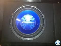 Pioneer Photo Box Pioneer Subwoofer With Box Super Bass Clickbd