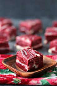red velvet swirl fudge 4 ingredients cravings of a lunatic
