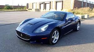 Ferrari California 2012 - dark blue ferrari california in montreal canada youtube