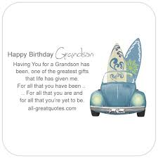happy birthday grandson poems wishes to write in cards