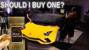 how to buy lamborghini aventador should i buy it what it s like at a lambo function