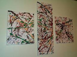 abstract art expression abstract painting wall art decor home