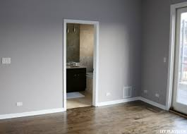 Gray Purple Bathroom - how to choose the perfect gray paint color for your home
