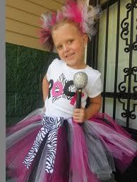 Girls Movie Star Halloween Costume 25 Rock Star Hair Ideas Pop Star Party