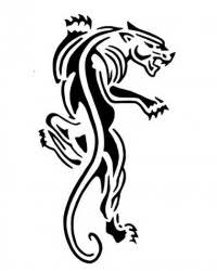 tribal panther tattoos 42 tribal panther ideas best 25 black