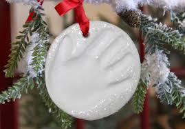 clay handprint ornament kit for babies child to cherish