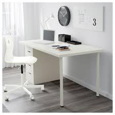 linnmon alex table white 59x29 1 2