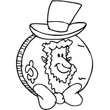 abraham lincoln coin presidents coloring abraham