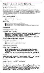 warehouse resume template not getting interviews we can help you