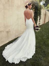 low back wedding dresses ideas low back lace wedding dresses beading straps sweetheart fit