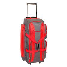 Rugged Duffel Bags Rugged Gear Multi Pocket 32 Inch Rolling Duffel