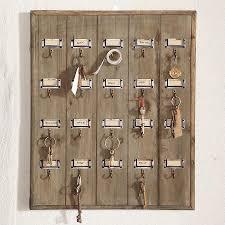 vintage hotel key rack wall decor decor home furnishings