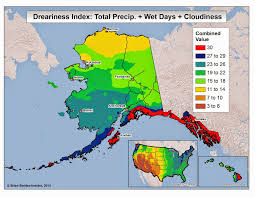 Map Of Alaska And Usa by Brian B U0027s Climate Blog Dreary Weather