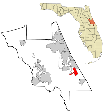Florida District Map by Edgewater Volusia County Florida Wikipedia