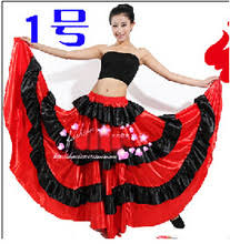 compare prices on spanish belly dance skirt flamenco online