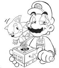 sonic and mario coloring pages final fantasy coloriage ff pinterest final fantasy and finals
