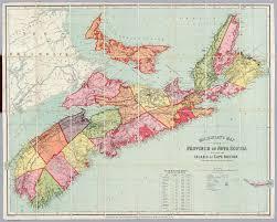 Southwest Canada Map by Geomatics Association Of Nova Scotia Maps U0026 Mapping Resources
