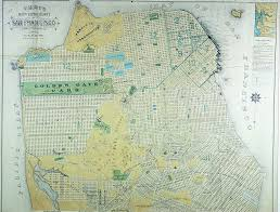 Map Of San Francisco by San Francisco City And County Map 1890 Earth A Work In Progress
