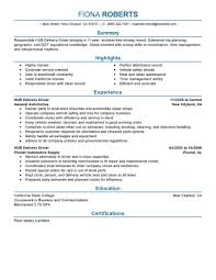 Sample Driver Resume by Best Hub Delivery Driver Resume Example Livecareer
