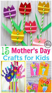 15 cute mother u0027s day crafts for kids planning playtime