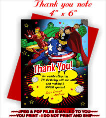 8 birthday thank you notes u2013 free sample example format