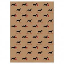 dachshund christmas wrapping paper personalised gift wrap dog note books dog greetings cards